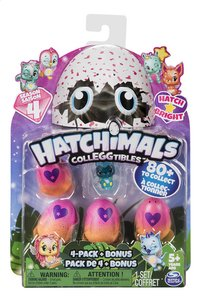 Hatchimals CollEGGtibles 4-pack + Bonus Season 4-Vooraanzicht