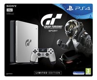 PS4 console Slim 1TB grijs + GT Sport Limited Edition