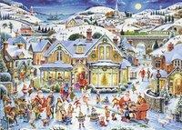 Ravensburger puzzel Maar wie is de Kerstman?-Vooraanzicht
