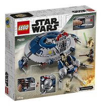 LEGO Star Wars 75233 Droid Gunship-Achteraanzicht