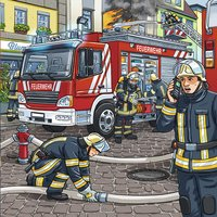 Ravensburger puzzle 3 en 1 Les secours-Avant
