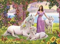 Ravensburger XXL puzzel Mooie prinses-Vooraanzicht