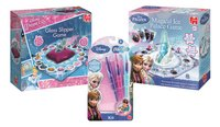 Disney Princess Glazen Muiltjesspel + Frozen Magical Ice Palace Game + Frozen Blopens Kit