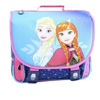 Boekentas Disney Frozen blauw/roze 38 cm