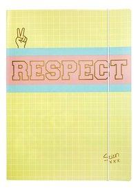 Stien Edlund elastomap A4 Respect-Vooraanzicht
