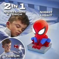 GoGlow Buddy nacht-/zaklamp Spider-Man-Afbeelding 7