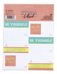 Stien Edlund etiket - 18 stuks-Vooraanzicht