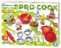 Écoiffier keukenaccessoires 100% chef Pro-Cook