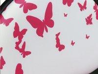 Chaise de bureau pour enfants Papillons rose-Détail de l'article