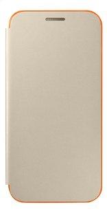 Samsung flipcover pour Galaxy A3 2017 neon or