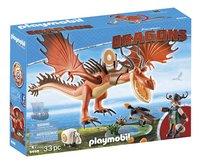 PLAYMOBIL Dragons 9459 Rustik et Krochefer-Côté gauche