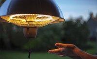Sunred Elektrische hangende terrasverwarmer Mushroom 1500 W antraciet-Afbeelding 2