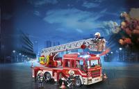 PLAYMOBIL City Action 9463 Camion de pompiers avec échelle pivotante-Image 1