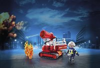 PLAYMOBIL City Action 9467 Pompier avec robot d'intervention-Image 1