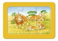 Ravensburger Puzzel 3-in-1 My First Aap, Olifant en leeuw-Vooraanzicht