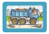 Ravensburger Puzzel 3-in-1 My First Graafmachine, tractor en kiepauto-Vooraanzicht