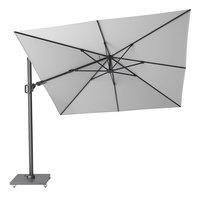 Platinum parasol suspendu Challenger T2 aluminium 3 x 3 m Blanc-Avant