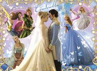 Ravensburger XXL puzzel Cinderella-Vooraanzicht