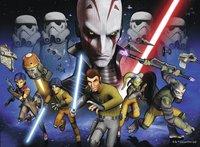 Ravensburger puzzle XXL Disney Star Wars Lutte pour l'Empire-Avant