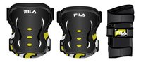 Fila set de protection 5-8 ans noir/jaune
