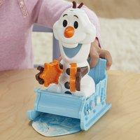 Play-Doh Disney La Reine des Neiges II Le traîneau d'Olaf-Image 2