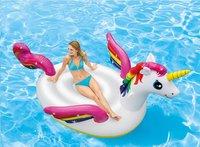 Intex matelas gonflable pour 2 personnes Mega Unicorn Eiland-Image 1