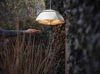Sunred Elektrische hangende terrasverwarmer Mushroom 1500 W inox-Afbeelding 3