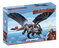 Playmobil Dragons 9246 Harold et Krokmou