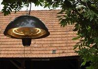 Sunred Elektrische hangende terrasverwarmer Mushroom 1500 W antraciet-Afbeelding 3