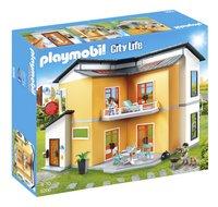 PLAYMOBIL City Life 9266 Modern woonhuis-Linkerzijde