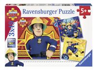 Ravensburger Puzzel 3-in-1 Brandweerman Sam-Vooraanzicht