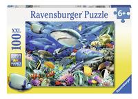 Ravensburger XXL puzzel Haaienrif-Vooraanzicht