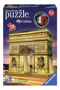Ravensburger 3D-puzzel Arc De Triomphe-Vooraanzicht