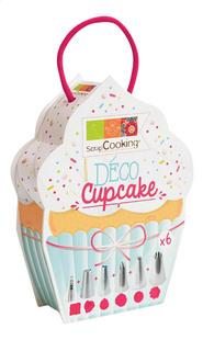 ScrapCooking Deco Cupcake 6 spuitmonden-Linkerzijde