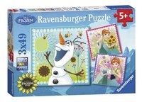 Ravensburger Puzzel 3-in-1 Disney Frozen Fever-Linkerzijde