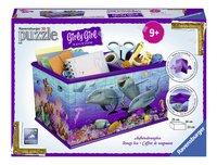 Ravensburger 3D-puzzel Girly Girl opbergdoos onderwaterwereld-Vooraanzicht