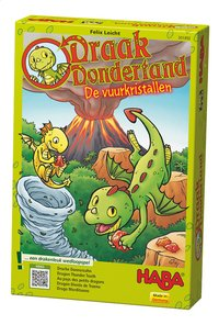 Draak Dondertand – De vuurkristallen-Rechterzijde