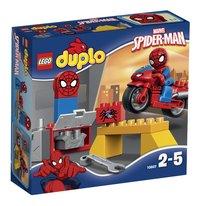 LEGO DUPLO 10607 L'atelier de la moto-araignée de Spider-Man