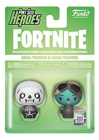 Funko Pint Size Heroes - Fortnite Skull Trooper & Ghoul Trooper-Vooraanzicht