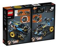 LEGO Technic 42095 RC Stunt Racer-Achteraanzicht