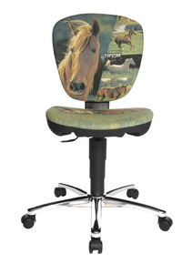 Topstar chaise de bureau pour enfants Kiddi Star Horses light