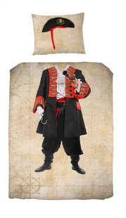 Day Dream housse de couette Pim Le Pirate coton 140 x 200 cm-Avant