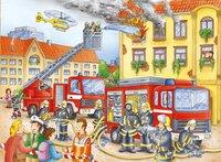 Ravensburger puzzle Nos pompiers