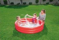 Bestway zwembad voor kinderen Play pool Ø 152 cm rood-Afbeelding 1