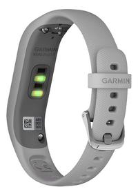 Garmin capteur d'activité Vivosmart 4 S/M gris-Arrière