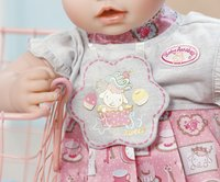 Baby Annabell kledijset Day Dresses roze-wit-Afbeelding 1