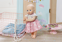 Baby Annabell kledijset Day Dresses roze-wit-Afbeelding 3