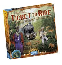 Ticket to Ride uitbreiding: The Heart of Africa