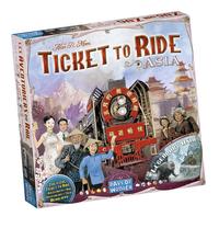 Ticket To Ride uitbreiding: Asia
