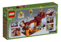 LEGO Minecraft 21154 De Blaze brug-Achteraanzicht